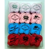 TOOTH7 - 1.5' Dental Erasers (48pcs @ $0.07/pc)