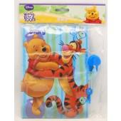 "WPDIARY5 - Winnie the Pooh 7"" Soft Diary w Lock (12pcs @ $1.25/pc)"