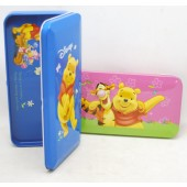 "WPPC2 - 8""x4""  Pooh Tin Pencil Case (12pcs @ $2.50/pc)"