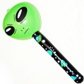 "ALIENINFL - 36"" Inflatable Aliein Lollipop (12pcs @ $1.50/pc)"