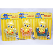 "BABYTWE - 4"" Looney Tunes Tweety Bird Water Filled Rattle (12pcs @ $1.25/pc)"