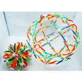 "CZBALLBIG7 - Giant Expanding 6""-15"" Geometric Ball (12pcs @ $2.50/pc)"