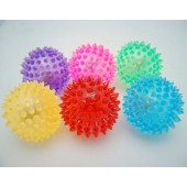 "CZBALLSPIKE3 - 3"" Transparent Spike Ball w/ Light (12pcs @ $1.00/pc).."