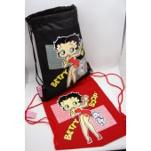 "BBSP  -  Betty Boop 15"" Canvas Sac Pacs (6pcs @ $3.50/pc)"