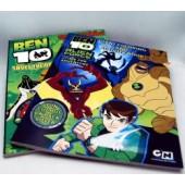 """BEN105 - Ben 10 8.5""""x11"""" Activity Books (12pcs @ $1.25/pc)"""