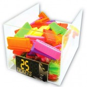 "BIN1 - 6"" x 10"" x 5"" Acrylic Toy Bins (4pcs @ $18.00/pc)"