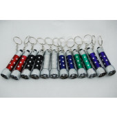 "FLASHKC5 - 2.5"" LED Flashlight Keychain w Batteries (12pcs @ $0.90/pc)"