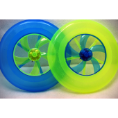 "CZFRISLIGHT - 9"" Light Up Transparent Frisbees (12pcs @ $1.50/pc).."