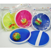 "CZGAME34 - 3pc Suction Ball Toss 7"" Game ( 12pcs @ $1.50/pc )"