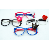 CZGLASSTREND - Asst. Hipster Light Up Glasses w/o Lense (12pcs @ $1.00/pc)