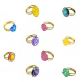 Item# A1GLITB - Glitz Rings in Bulk Bags (100 pcs @ $0.09/pc)