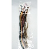 "HAIRX - 15"" Hair Extensions 6pk (12pks @ $0.85/pk or $0.14/pc)"