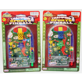 "CZPINB4 - 6"" Sports Themed Pinball Game (12pcs @ $0.90/pc)..."