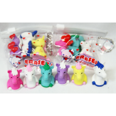 "CZUNIC - 3pk of 1"" Unicorn Build able Erasers in Bag (12pks @ $0.90/pk)..."