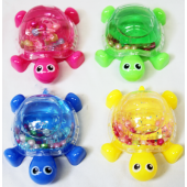 "CZSLIMETU - 3.5"" Slime in Turtle Jar w Beads (12pcs @ $0.95/pc)..."