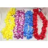"CZLEI1 - 24"" Asst Hawaiian Leis with Hang Tag (12pcs @ $0.79/pc)..."