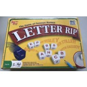 "LMM13 - 10"" Letter Rip Card Game in Box (6pcs @ $2.50/pc)"