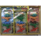 "CZDINE - 2.5"" Amazing Detailed Dinosaur Erasers (60pcs @ $0.25/pc)"