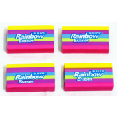 "jb229 - 2"" Colorful Rainbow Erasers (48pcs @ $0.25/PC)"
