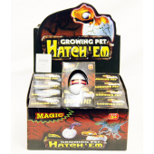 "CZHATCH23 - Hatching Dinosaur Eggs in 4"" Box (12pcs @ $1.00/pc)"