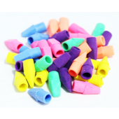 "JB230 - 1"" Colorful Pencil Top Erasers (600pcs @ $0.02/pc)"