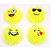 "CZEMOJI - 5"" Emoji Light Up Puffer Balls (12pcs @ $1.00/pc)"