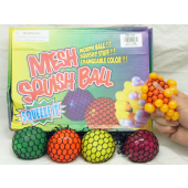 "CZGSB4 - 3"" Asst. Grape Squish Balls (12pc @ $0.95/pc)"
