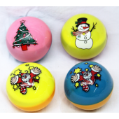"JB180 - 2.5"" Colrful Christmas Balls NO LIGHT (12pcs @ $1.00/pc)"