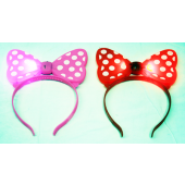 CZJB194 - Light Up Plastic Minnie Mouse Boppers (12pcs @ $1.50/pc)