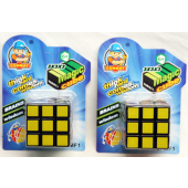 "CZTH134 - Rubix Cube Style Toy on 6"" Card (12pcs @ $1.50/pc)"