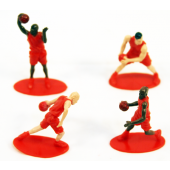 "BASKFIG - 2.5"" Painted Basketball Players (60pcs @ $0.22/pc)"