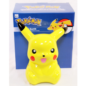 "POKEFIG8 - 8"" Ceramic Pikachu Pokemon Bank in Box (each @ $12.50/pc)"