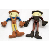 "NE4 - 4"" Cowboy Bendable (12pcs @ $0.50/pc)"