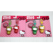 NW7 - Hello Kitty 2pk Fruit Clip Ons (12pks @ $1.40/pk))