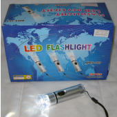 "CZLEDFLASH2 - 4"" LED Chunky Flashlight with Batteries (24pcs @ $0.90/pc)"