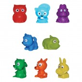 "Item# A1MIM3B - 1"" Mini Animals Collectibles (100pcs @ $0.09/pc)"