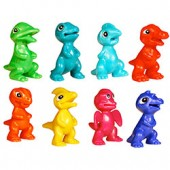 A1MISAB - Microsaurs Figurines in Bulk Bag (100 pcs @ $0.10/pc)