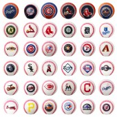 "A1MLB7B - 2"" MLB Mini Baseballs in Bulk Bag (36 pcs @ $0.35/pc)"