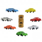 "Item # A1MRACB - 1.5"" Mini Race Cars in Bulk (100pcs @ $0.10/pc)"