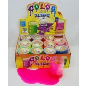 "OILLG - Large 3.5"" Neon Oil Slime (12pcs @ $1.25/pc)"