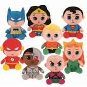 "Item# FF13809489 - 10"" Plush Justice League Big Head Plush (48pcs @ 6.95/pc)"