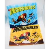"PORT24  -  Asst. Incredibles 12"" x 9.5"" Fold Over Folders w/ Snap String (12pcs @ $1.50/pc)"
