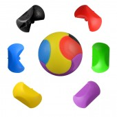 "Item# A1PUBAB - 1.25"" Puzzle Balls in Bulk (100pcs @ $0.12/pc"