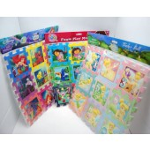 "PUZMATASST - Asst. 12"" x 12"" Girls Puzzle Mats (12pcs @ $1.50/pc)"