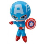 "CZ135 - 24"" Captain America Inflatable Character (12pcs @ $2.50/pc)"