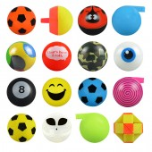 Item# A1SEM3B - 1.25 Asst. Plastic Fun Mix (100pcs @ $0.15/pc)