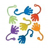 "Item# A1SMSTB - 1.5"" Small Sticky Hands in Bulk (100pcs @ $0.05/pc)"
