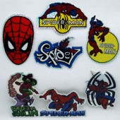 "STISM - 4"" Spider Man Asst. Stickers (100pcs @ $0.25/pc)"