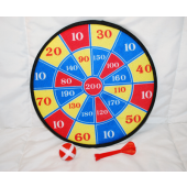 "BR338 - 10.5"" Velcro Dart Board (12 pcs @ $1.50/pc)"