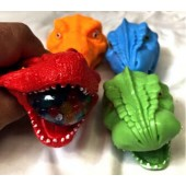 "CZGSBDIN - 3"" Dinosaur Themed Beaded Squeeze Toy (12pcs @  $1.00/pc)"
